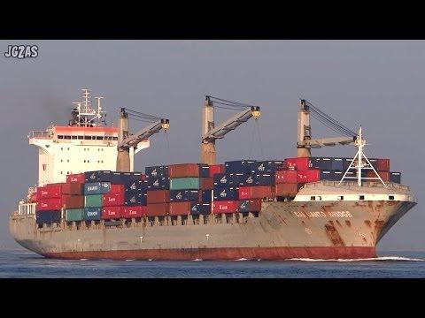 [船] CALICANTO BRIDGE Container ship コンテナ船 Osaka 大阪港 2014-MAR