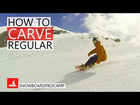 How to Carve on a Snowboard Regular – How to Snowboard