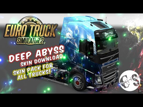Deep Abyss Skin Pack for All Trucks + Volvo Ohaha