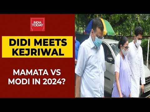 Mission 2024: After Sonia Gandhi, Mamata Banerjee Meets Delhi CM Arvind Kejriwal | Breaking News