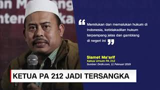 Video Ketua PA 212 Slamet Ma'arif Jadi Tersangka MP3, 3GP, MP4, WEBM, AVI, FLV Februari 2019