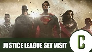 'Justice League' Set Visit Video Recap: Here's What We Learned by Collider