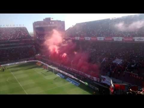 Independiente 3-0 Racing/ Recibimiento 2015 - La Barra del Rojo - Independiente