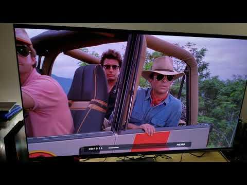 JURASSIC Park 4K HDR vs Blu-Ray 1080p