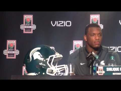 Shilique Calhoun Interview 12/27/2013 video.