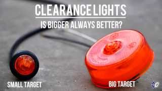 Difference is in the Details: Diamond C Trailer Bullet-Style Small Clearance Lights