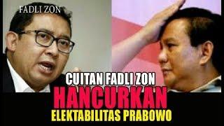 Video Bermaksud 'Ngenyek' Jokowi, Fadli Zon Malah Mencincang Elektabilitas Prabowo MP3, 3GP, MP4, WEBM, AVI, FLV April 2018