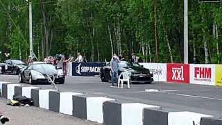 Bugatti Veyron vs Nissan GTR