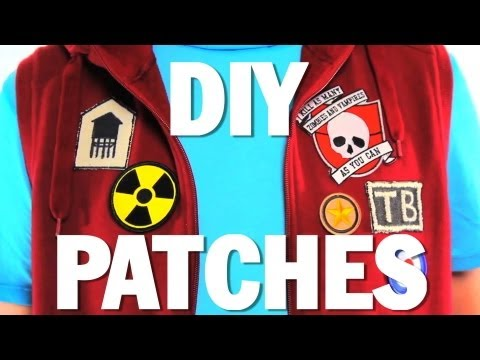 how to make your own biker patch