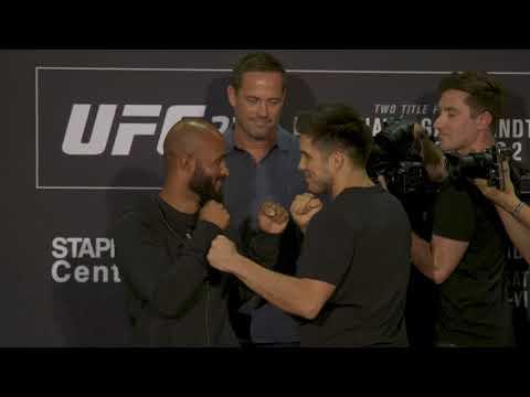 UFC 227: Media Day Faceoffs