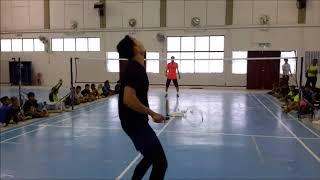 Kem Bakat Badminton KBS Negeri Pahang: Silibus Pukulan Bawah