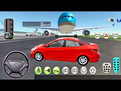 3D Driving Class 10 Free Ride in Airport! - Car Games Android Gameplay