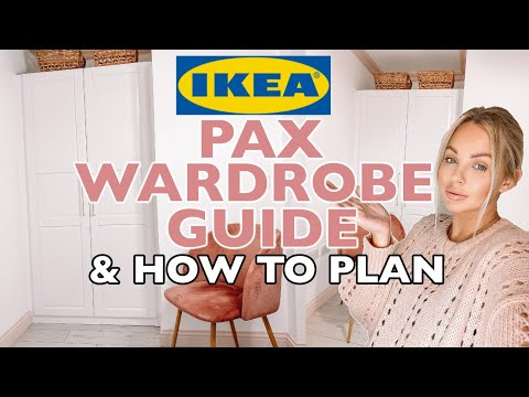 IKEA PAX WARDROBE GUIDE & HOW TO PLAN | Lucy Jessica Carter