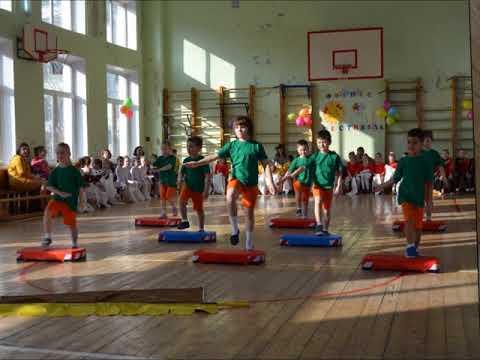 IVГородской Фитнес-фестиваль «Солнечный зайчик» для детей дошкольного возраста 1 поток