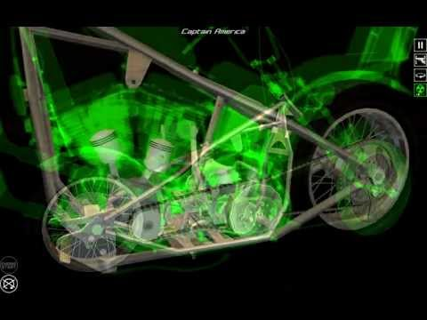 Video of Bike Disassembly 3D