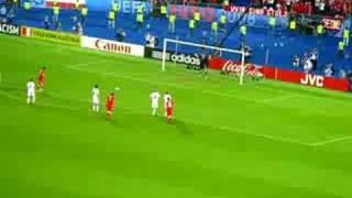 Österreich – Polen 1:1 (Elfmeter von Ivica Vastic, 12.06.2008)