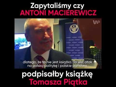 """Sprawdźcie co do powiedzenia na temat książki """"Macierewicz i jego tajemnice"""" ma sam Antoni."""