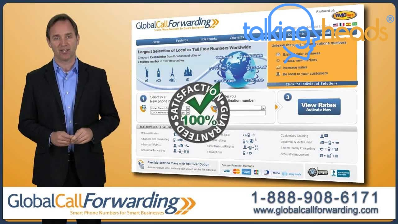 Custom Video Presentation - Global Call Forwarding