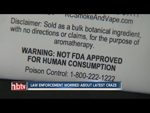 Health officials warn of new drug sold in stores