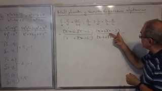 Algebra Intermedia - Lección 25 - B (multiplicación Y División De Fracciones Algebraicas)