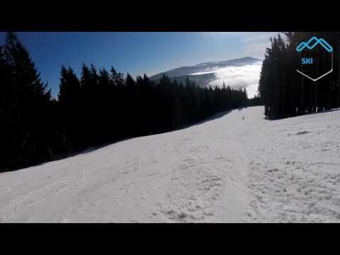 Ski Špičák červená 3