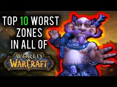 wow - From Vanilla, to Burning Crusade, Wrath of the Lich King, Cataclysm and Mists of Pandaria - what is the worst leveling zone out there? And what makes them so...