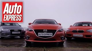 Mazda 3 Vs Audi A3&BMW 1 Series Group Test