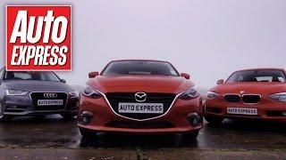 Mazda 3 Vs Audi A3&BMW 1 Series Group Test