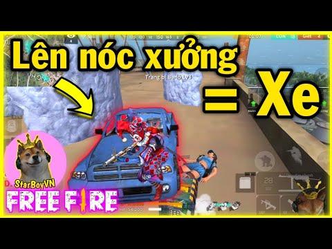 [Free Fire] Bắt chước a Rikaki dùng xe lên nóc xưởng và cái kết =))   StarBoyVN - Thời lượng: 11 phút.