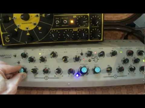 sherman filterbank and rota synth in action