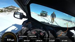 9. Can am Defender Max and X3 Max snow riding!