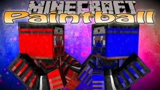 Minecraft Mini Game: Paintball Multiplayer /w Friends! (Mod not plugin)