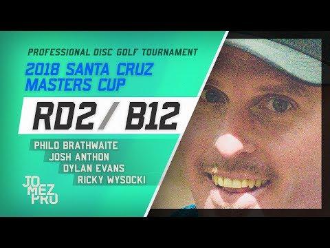 2018 Santa Cruz Masters Cup | Lead Card, RD2, B12 | Wysocki, Brathwaite, Evans, Anthon (видео)