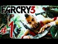 Far Cry 3 Parte 1: O Inferno De Jason Brody Pc Playthro