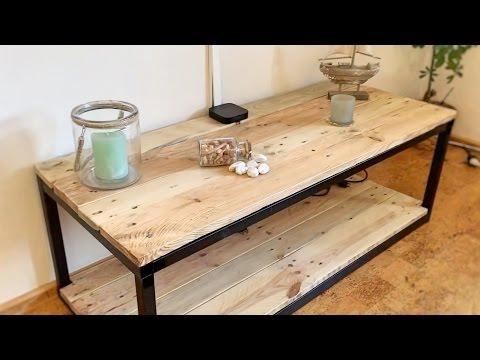 TV-Schrank selber bauen (Industrial Style-Reihe | Teil 1)
