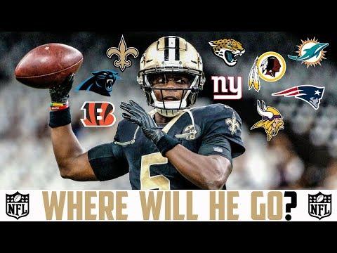 2019 NFL FREE AGENCY PREDICTIONS Teddy Bridgewater Saints Dolphins Panthers Vikings Bengals Redskins