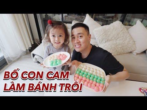 Bé Cam nặn bánh trôi | Gia Đình Cam Cam Vlog 88 - Thời lượng: 12:23.