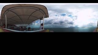 Golfo de Nicoyoa Costa Rica timelapse with the Kodak SP360