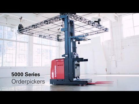Raymond 5000 Series Order Pickers:  Take Productivity to New Heights