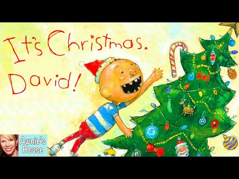 🎄 Kids Book Read Aloud: IT'S CHRISTMAS, DAVID! by David Shannon