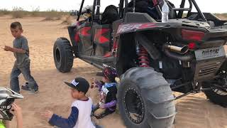 10. 2018 Easter � Day 2 Glamis California. 2018 RZR Turbo Fox Edition. Fun Time With AJNKIDZ FUN LIFE