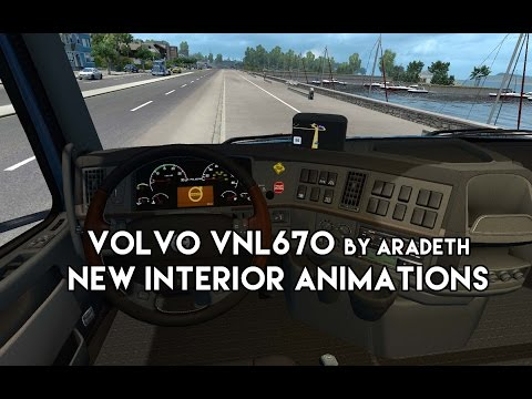 Volvo VNL670 by Aradeth for ATS v1.5