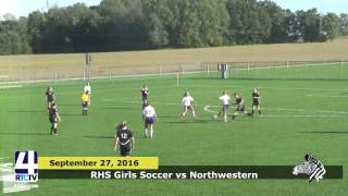 RHS Girls Soccer vs Northwestern
