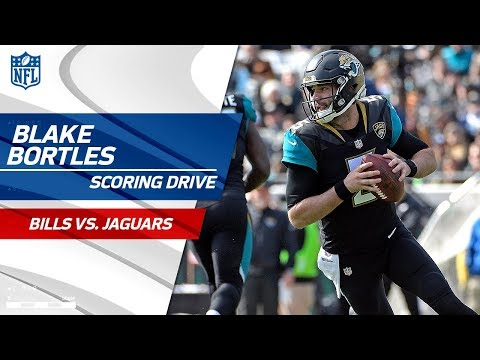 Video: Blake Bortles' Big Runs Set Up Game-Tying FG to End Half! | Bills vs. Jaguars | NFL Wild Card HLs