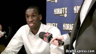 Ekpe Udoh - 2010 NBA Draft Media Day - DraftExpress