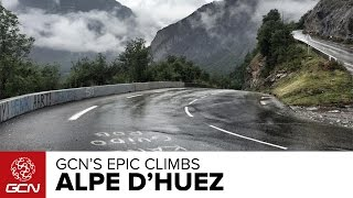 Alpe D'Huez France  city photo : Alpe D'Huez - GCN's Epic Climbs