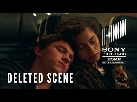 "SPIDER-MAN: FAR FROM HOME - DELETED SCENE ""Peter & MJ on the Plane"" - On Blu-ray TUESDAY!"