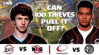 CRL North America: 100 Thieves v. NRG | compLexity v. Team SoloMid