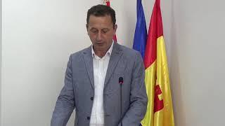 Прес конференција на градоначалникот Мицевски за случувањата во МЗ Мождивњак