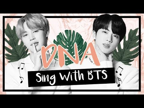 [Karaoke] BTS (방탄소년단) - DNA (Sing With BTS)